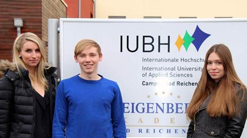 IUBH Students